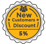 New Customer Discount